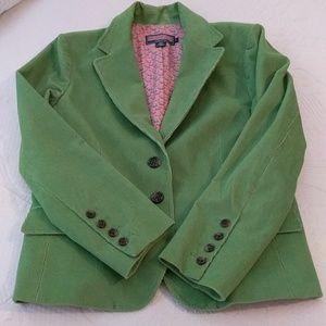 Vineyard Vines green corderoy blazer.